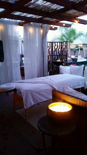 Your massage table is ready and waiting.